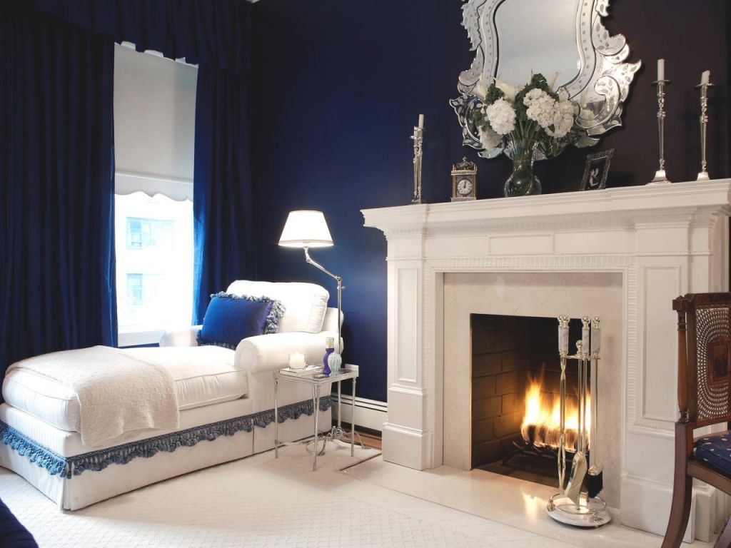 Navy Blue Bedrooms: Pictures, Options & Ideas | Hgtv pertaining to Room Decorating Ideas Bedroom