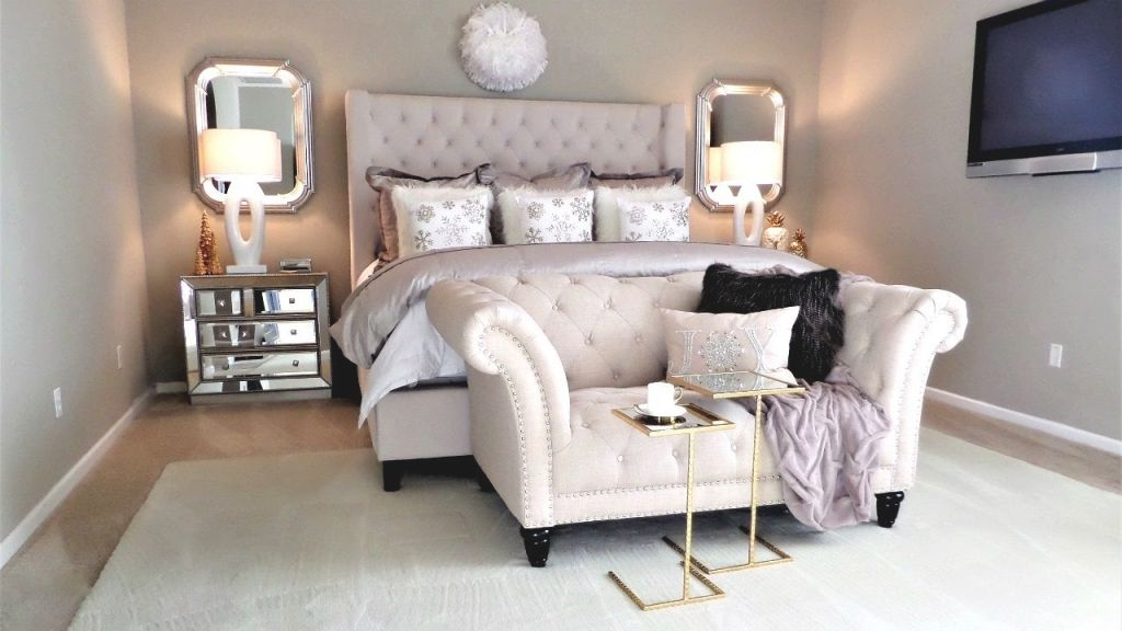 New! Luxury Master Bedroom Tour And Decor Tips & Ideas throughout Beautiful Taupe Bedroom Decorating Ideas