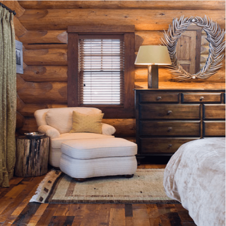 Photos And Tips On Decorating In Rustic Style in Inspirational Cabin Bedroom Decorating Ideas
