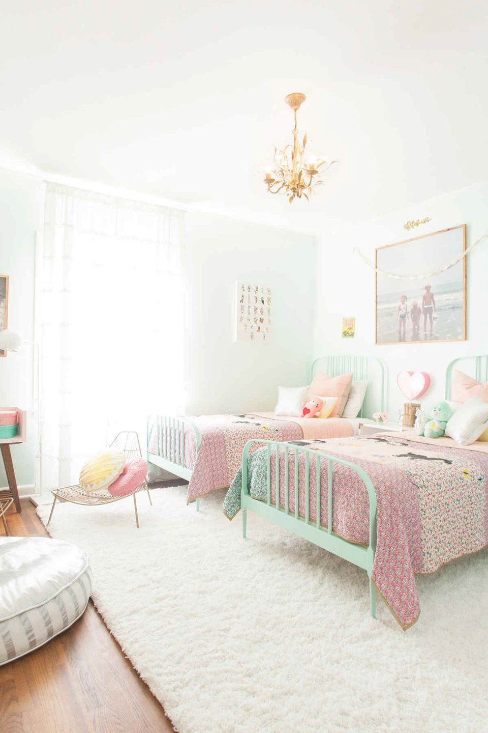Pin On Girl Rooms throughout Twin Bedroom Decorating Ideas
