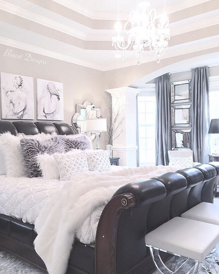 Pinmelissa Difabio On Dècor | Bedroom Decor, Home with regard to Unique Romantic Bedroom Decorating Ideas Pinterest
