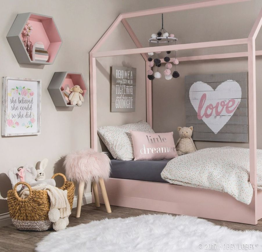 Pretty Pink Pastels Are Key To Creating This Dreamy Space with Wall Decor Bedroom Ideas
