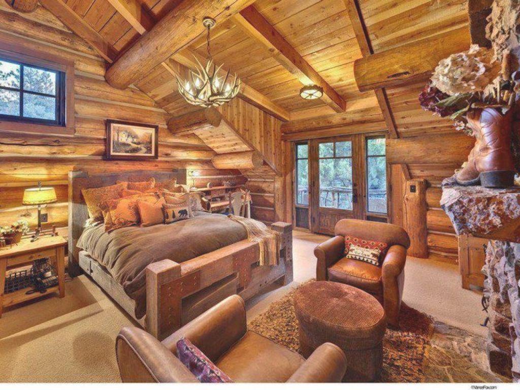 Rustic Cabin Accessories Rustic Cabin Bedroom Decorating within Cabin Bedroom Decorating Ideas