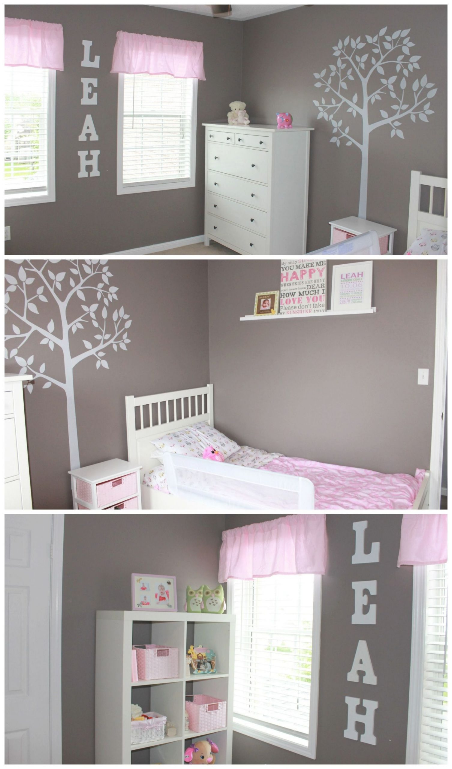 Simple But Sophisticated Toddler Bedroom (On A Budget for Best of Decoration Ideas For Little Girl Bedrooms