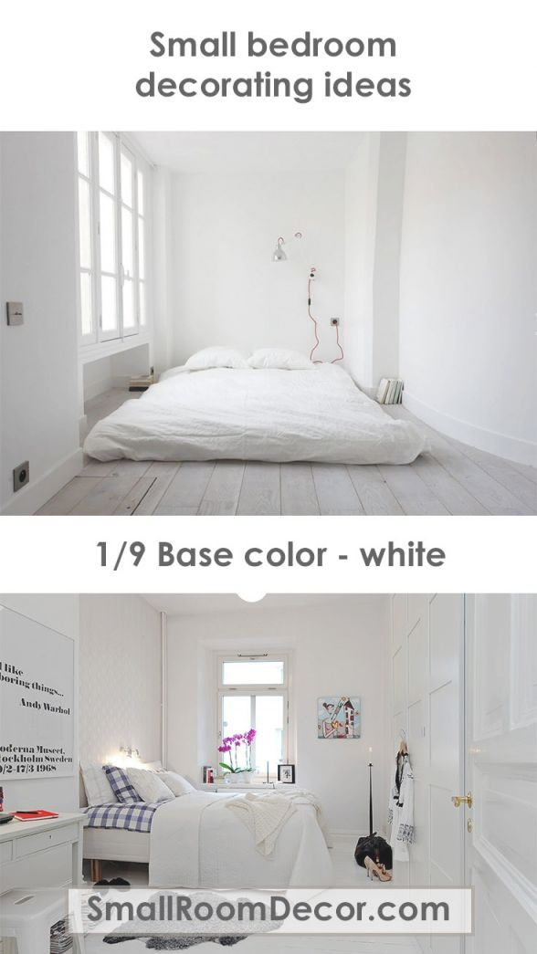 Small White Bedroom Decorating Ideas Modern Minimalist Style for Cheap Bedroom Decor Ideas