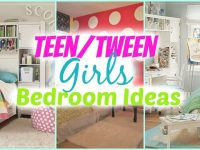 Teenage Girl Bedroom Ideas + Decorating Tips with Tween Girl Bedroom Decorating Ideas