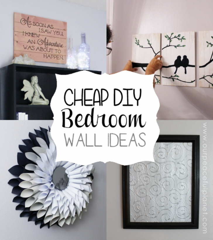 The Amazing Along With Stunning Diy Bedroom Wall Decor Ideas with Inspirational Wall Decoration Ideas For Bedrooms