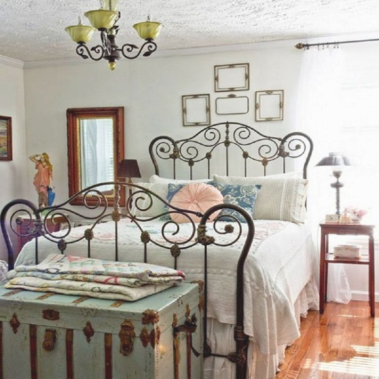 Tips And Ideas For Decorating A Bedroom In Vintage Style with Lovely Feminine Bedroom Decorating Ideas
