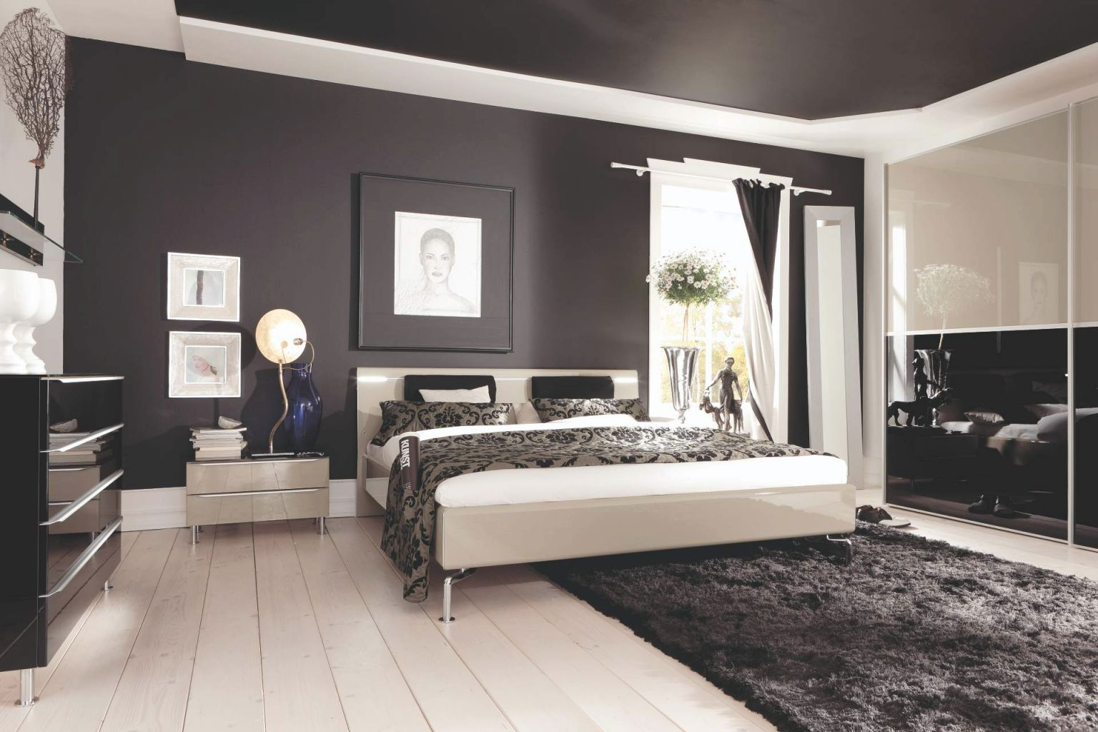 Top Great Bedroom Wall Designs Peacock Ideas Room Decor pertaining to Beautiful Master Bedroom Wall Decor Ideas