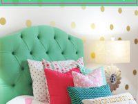 Tween Girl Bedroom Preppy Design / Decor Ideas (Pink, Navy with regard to Fresh Tween Girl Bedroom Decorating Ideas