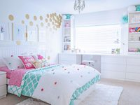 Tween Girl's Bedroom Makeover – Reveal – Tidbits&twine inside Fresh Tween Girl Bedroom Decorating Ideas