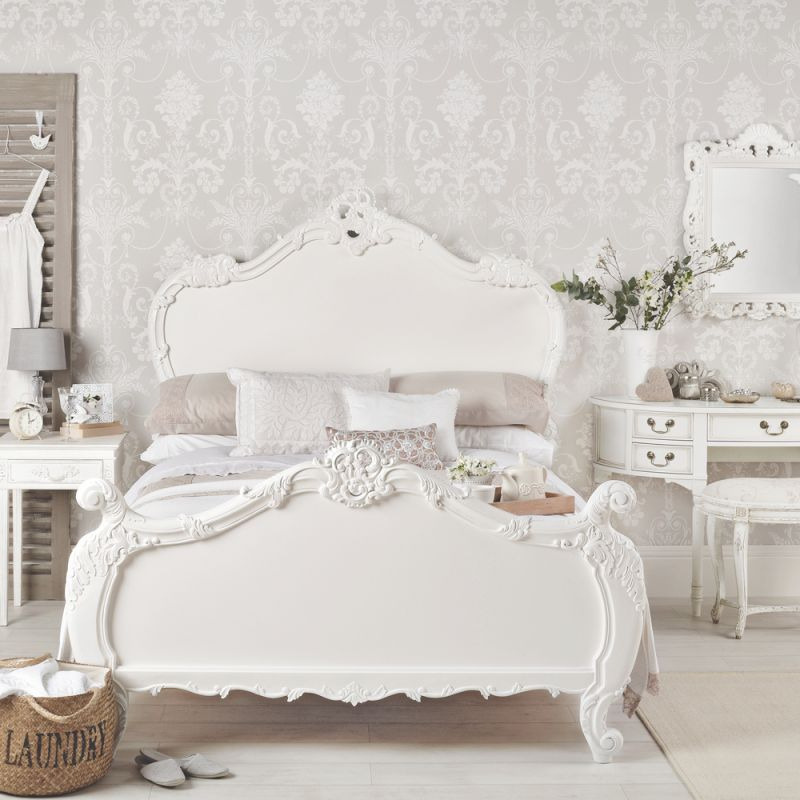 White Bedroom Ideas With Wow Factor | Ideal Home with Elegant French Bedroom Decorating Ideas