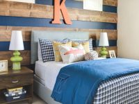 Woodsy Blue Teenage Boy Room Decor Ideas | New Room, Boy pertaining to Boys Bedroom Ideas Decorating