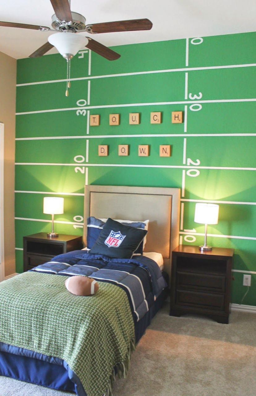 10 Totally Inspired Themed Kids Rooms – Unique Children's pertaining to Awesome Football Bedroom Decorating Ideas