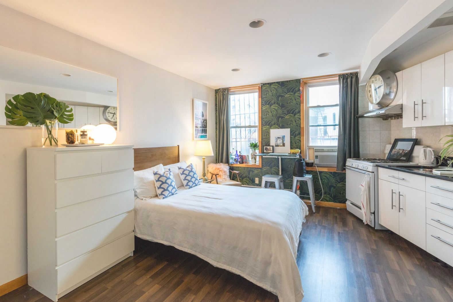 12 Perfect Studio Apartment Layouts That Work pertaining to One Bedroom Apartment Decorating Ideas