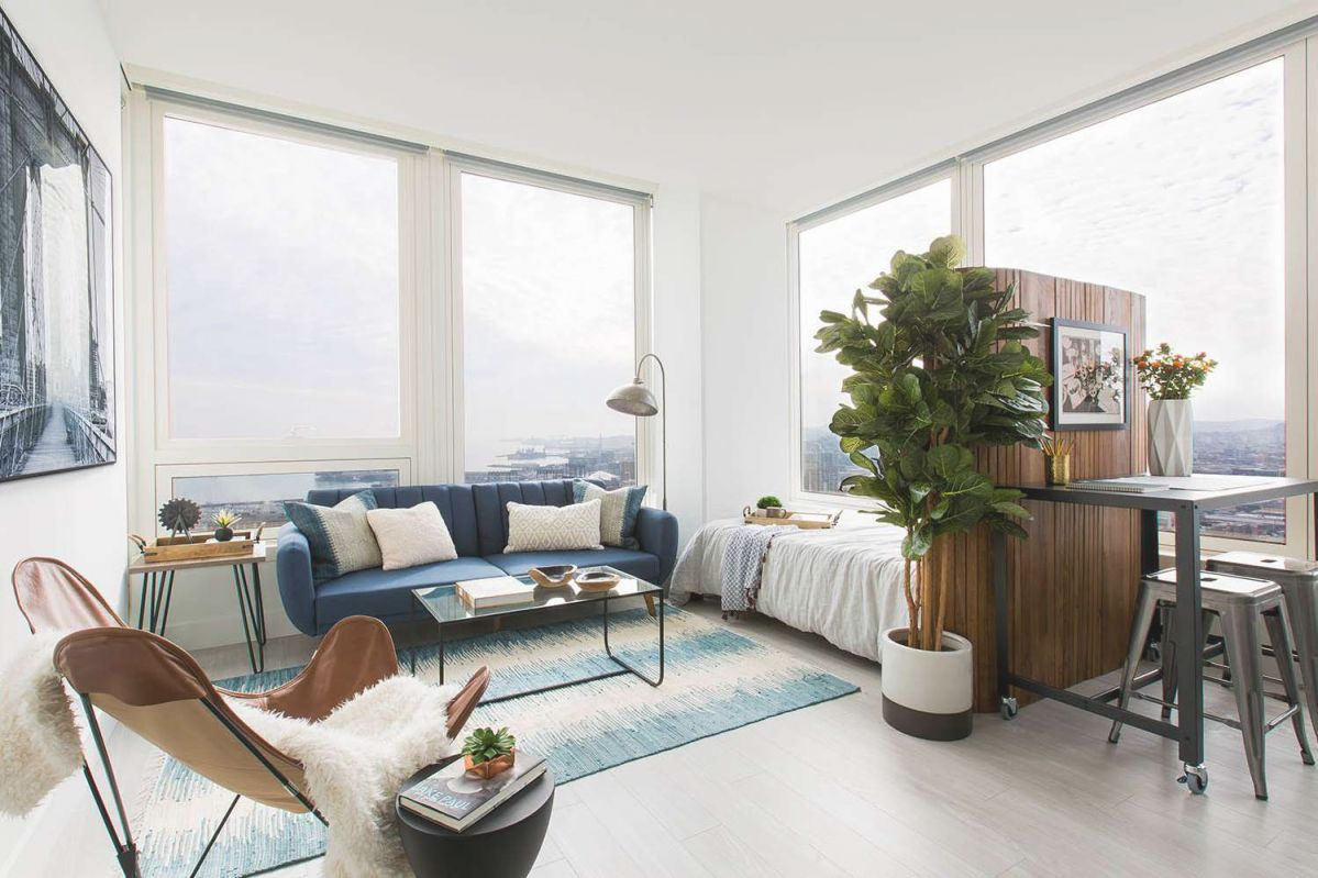 12 Perfect Studio Apartment Layouts That Work with Best of One Bedroom Apartment Decorating Ideas