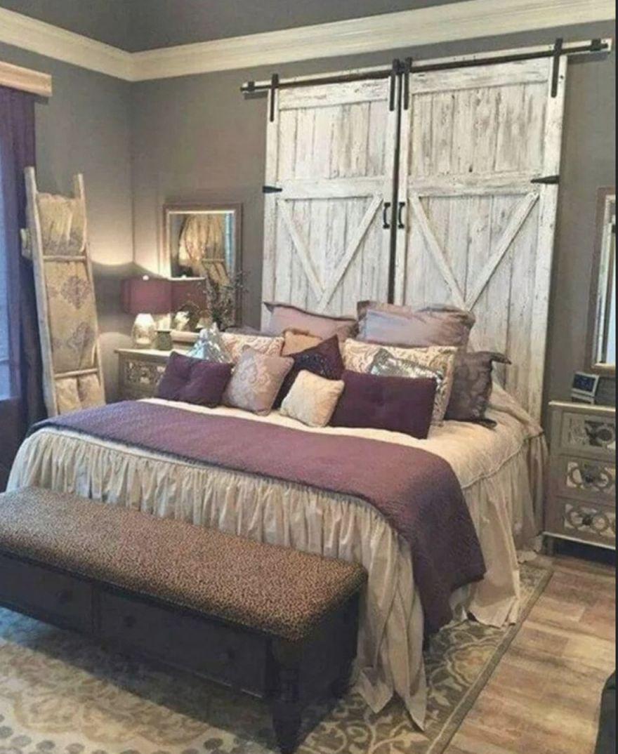 4 Romantic Rustic Farmhouse Master Bedroom Decorating Ideas in Rustic Bedroom Decorating Ideas