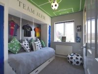 Awesome Football Bedroom Decorating Ideas