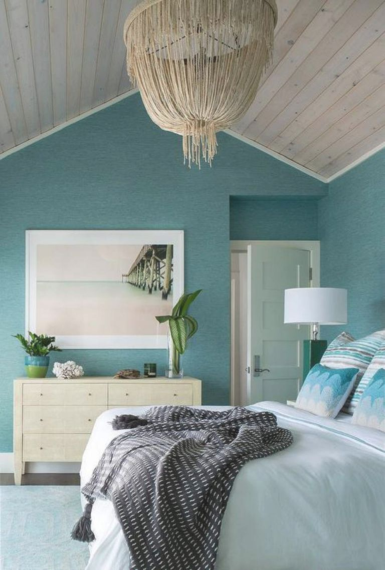 50 Gorgeous Beach Bedroom Decor Ideas intended for Awesome Decorating Ideas For A Bedroom