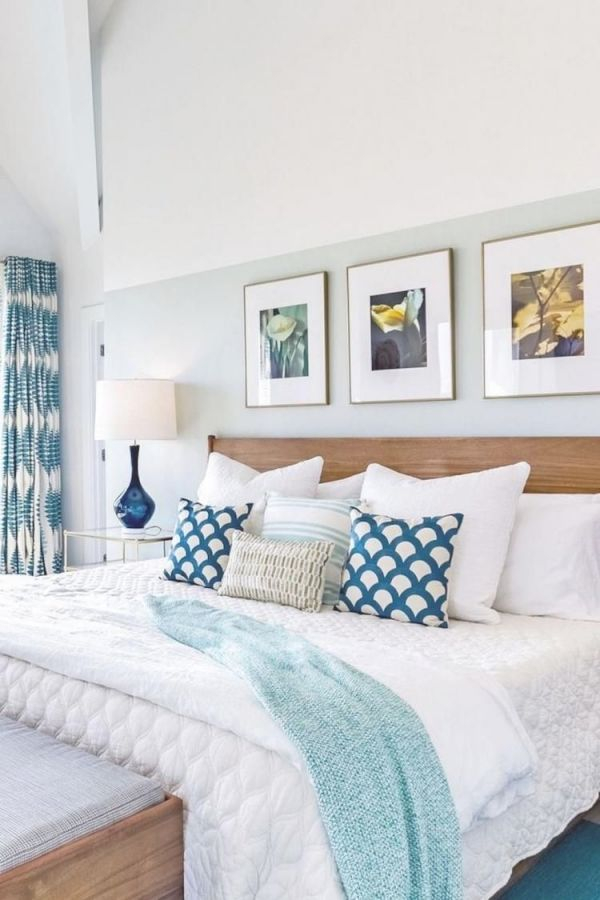 50+ Romantic Coastal Bedroom Decorating Ideas | Home Bedroom inside Luxury Seaside Bedroom Decorating Ideas