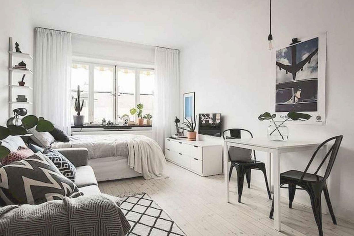 60 stylish studio apartment decorating ideas  doitdecor