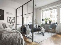 65 Brilliant Studio Apartment Decorating Ideas – Coachdecor pertaining to Best of One Bedroom Apartment Decorating Ideas