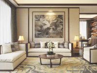 Beautiful Apartment Interior Design With Chinese Style – Roohome in New Chinese Bedroom Decorating Ideas