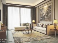 Beautiful Apartment Interior Design With Chinese Style – Roohome inside New Chinese Bedroom Decorating Ideas