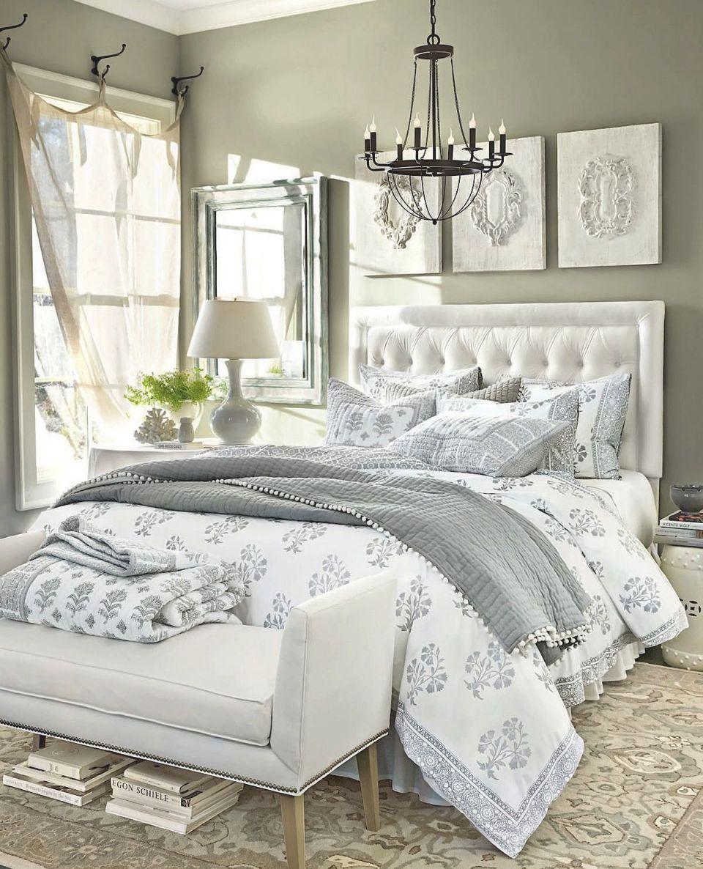 Bedroom Decorating Ideas | White Bedroom Decor, White in Decorative Ideas For Bedroom