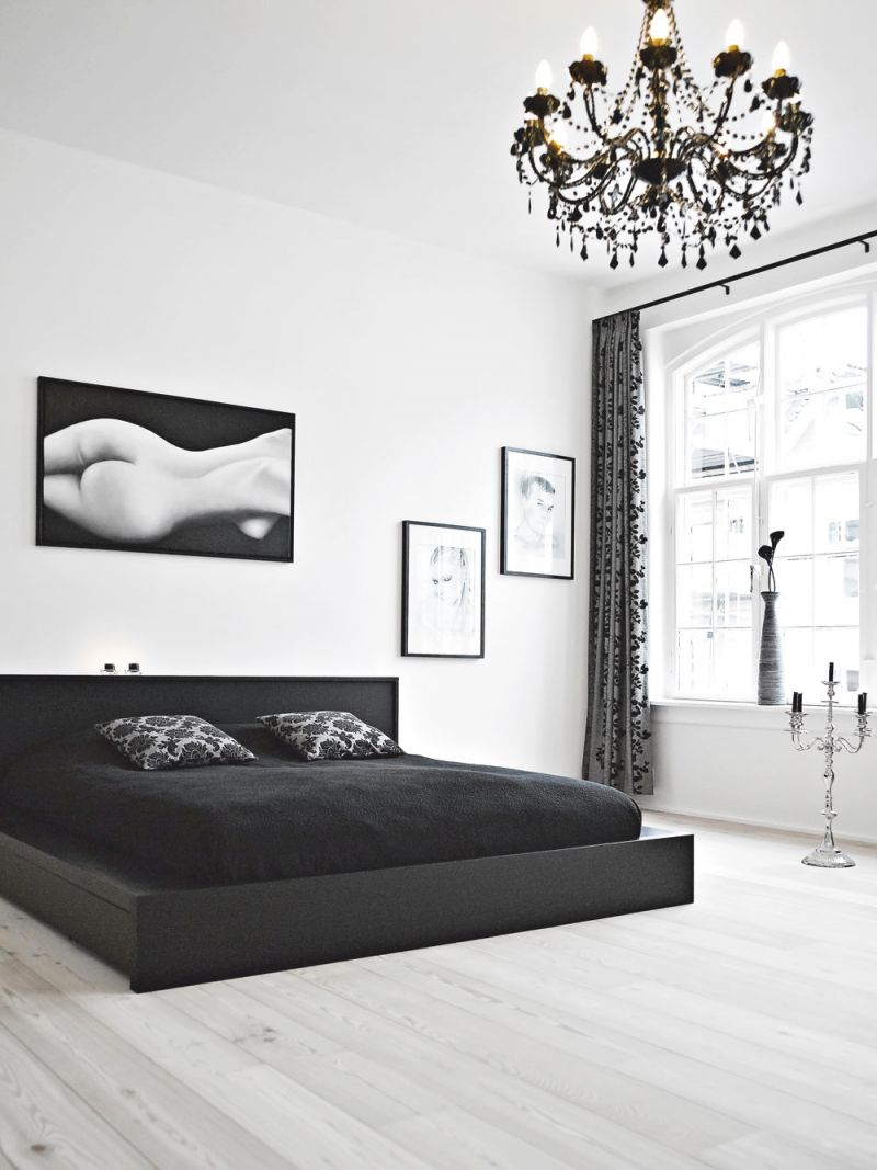 Bedroom Ideas : Beautiful Black White Designs And Gray Grey in Beautiful Black And Grey Bedroom Decorating Ideas