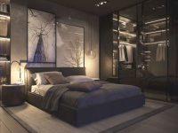 Masculine Bedroom Decor Gentleman S Gazette With Regard To Black And Grey Bedroom Decorating Ideas Awesome Decors