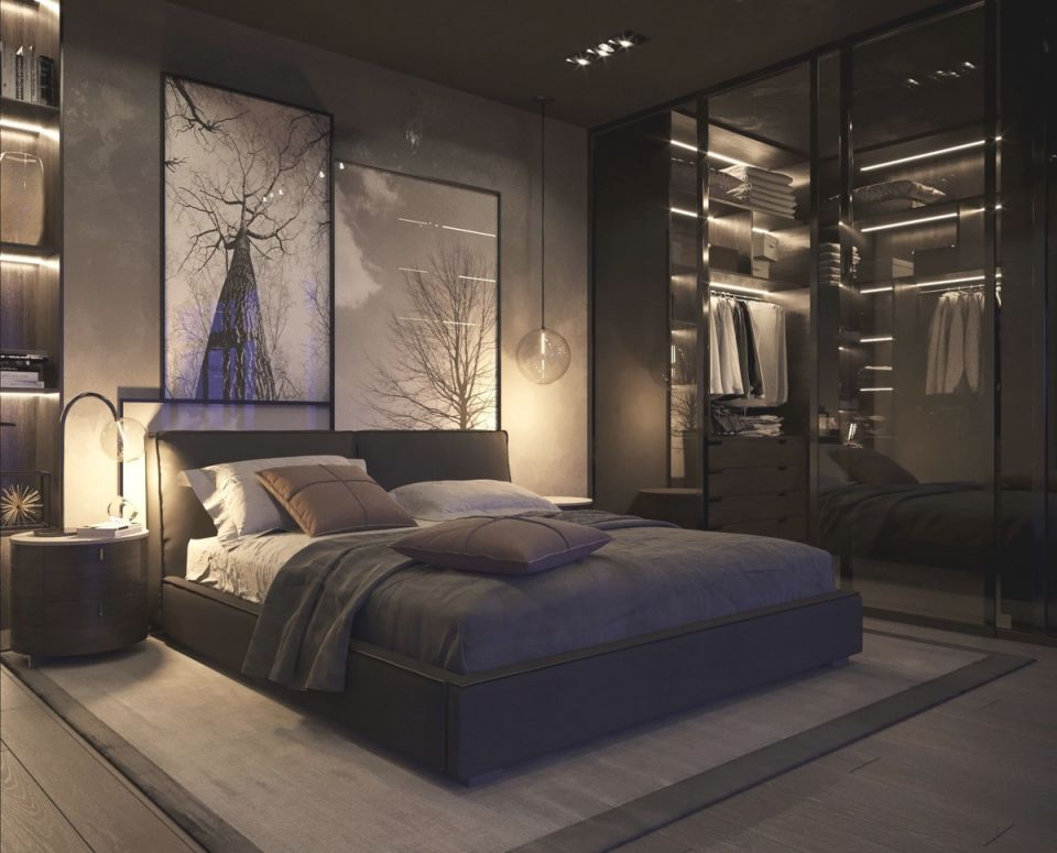 Bedroom Ideas : Black And Grey Awesome Decors White Gray within Black And Grey Bedroom Decorating Ideas
