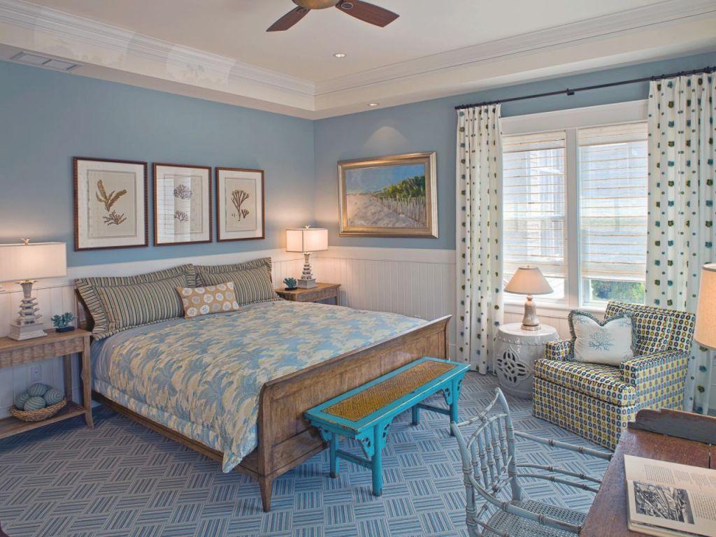 Blue Master Bedroom Ideas   Hgtv for Unique Home Decor Ideas For Master Bedroom