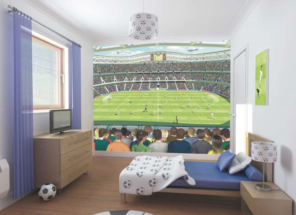 Boys Bedroom Decorating Ideas Football Design | Kamar Tidur with Awesome Football Bedroom Decorating Ideas