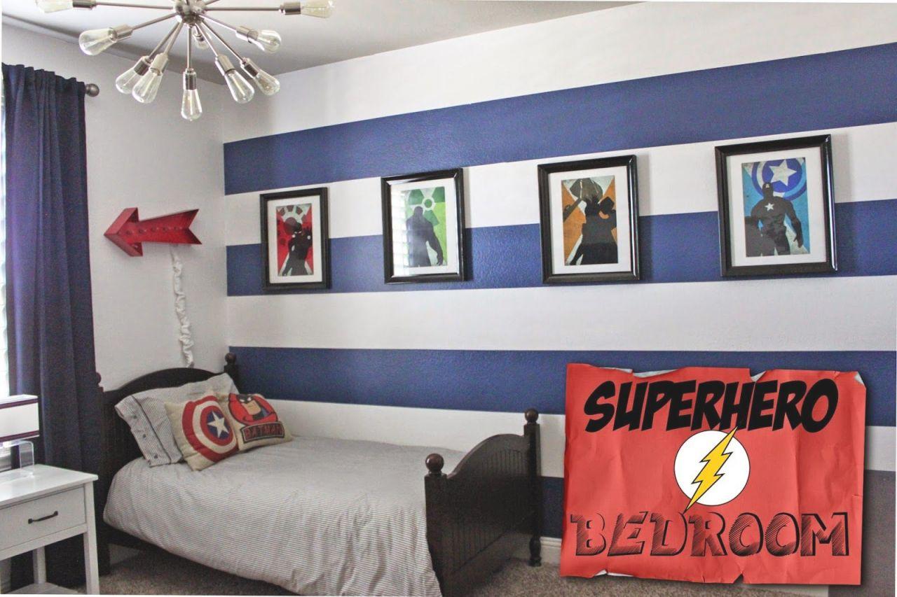 Boys} Superhero Room Tour | Little Boy Bedroom Ideas for Little Boy Bedroom Decorating Ideas