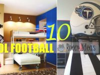 Brilliant Football Bedroom Room Decor Gala Grabadosartistico within Awesome Football Bedroom Decorating Ideas
