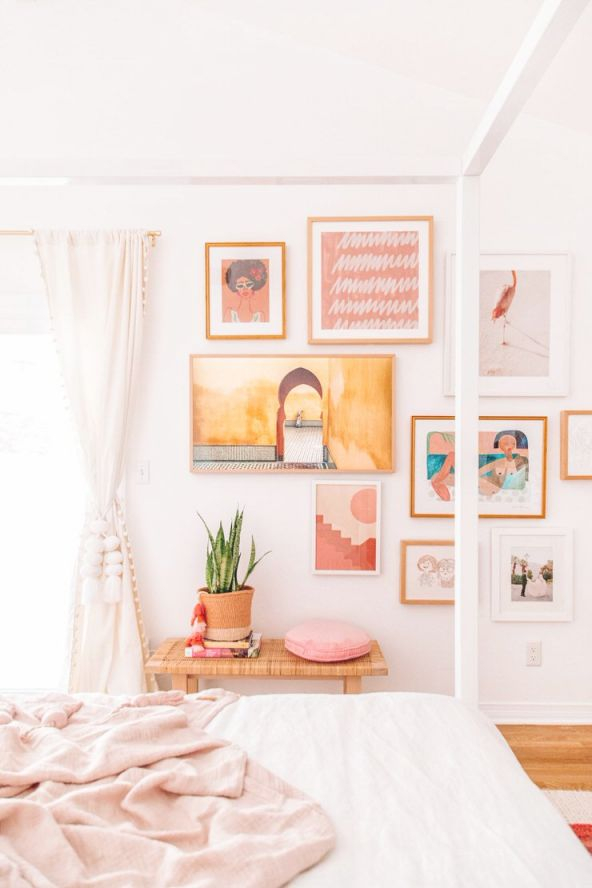 Charming But Cheap Bedroom Decorating Ideas • The Budget throughout Fresh Bedroom Cheap Decorating Ideas