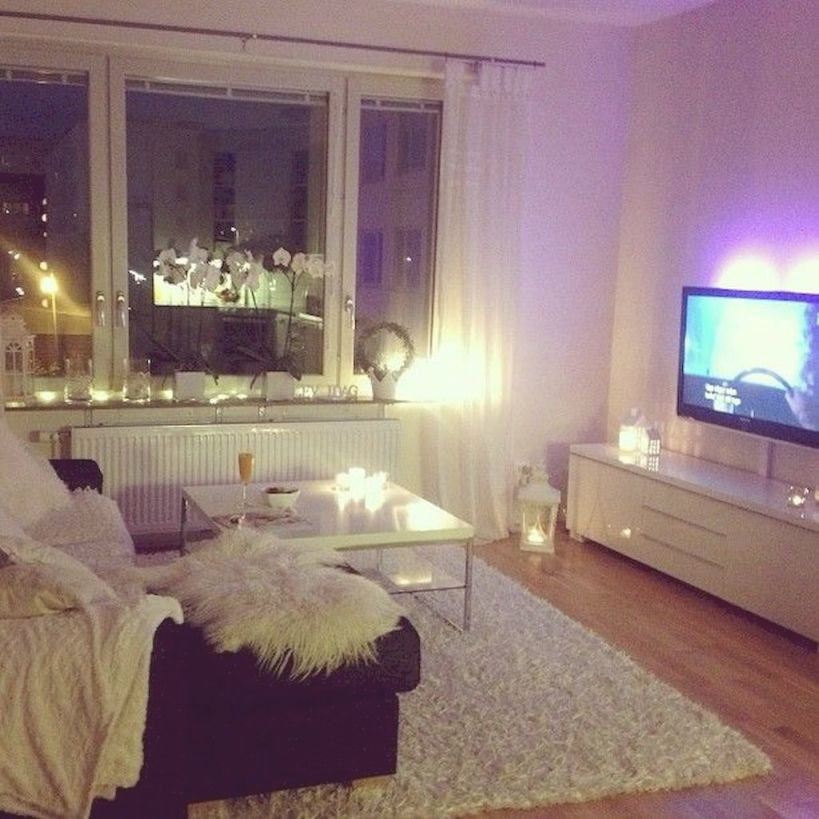 Cozy Apartment Decorating Ideas On A Budget (89) | One in Best of One Bedroom Apartment Decorating Ideas