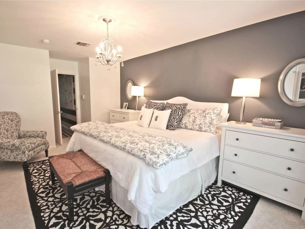 Cute Master Room Decor Ideas Small Bedrooms White Wooden within Home Decor Ideas For Master Bedroom