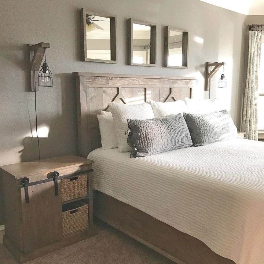 Diy Rustic Bedroom Set. Plans Soon! | Rustic Bedroom Sets intended for Unique Rustic Bedroom Decorating Ideas