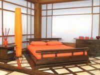 Fabulous Orange Bedroom Decorating Ideas And Designs intended for Chinese Bedroom Decorating Ideas