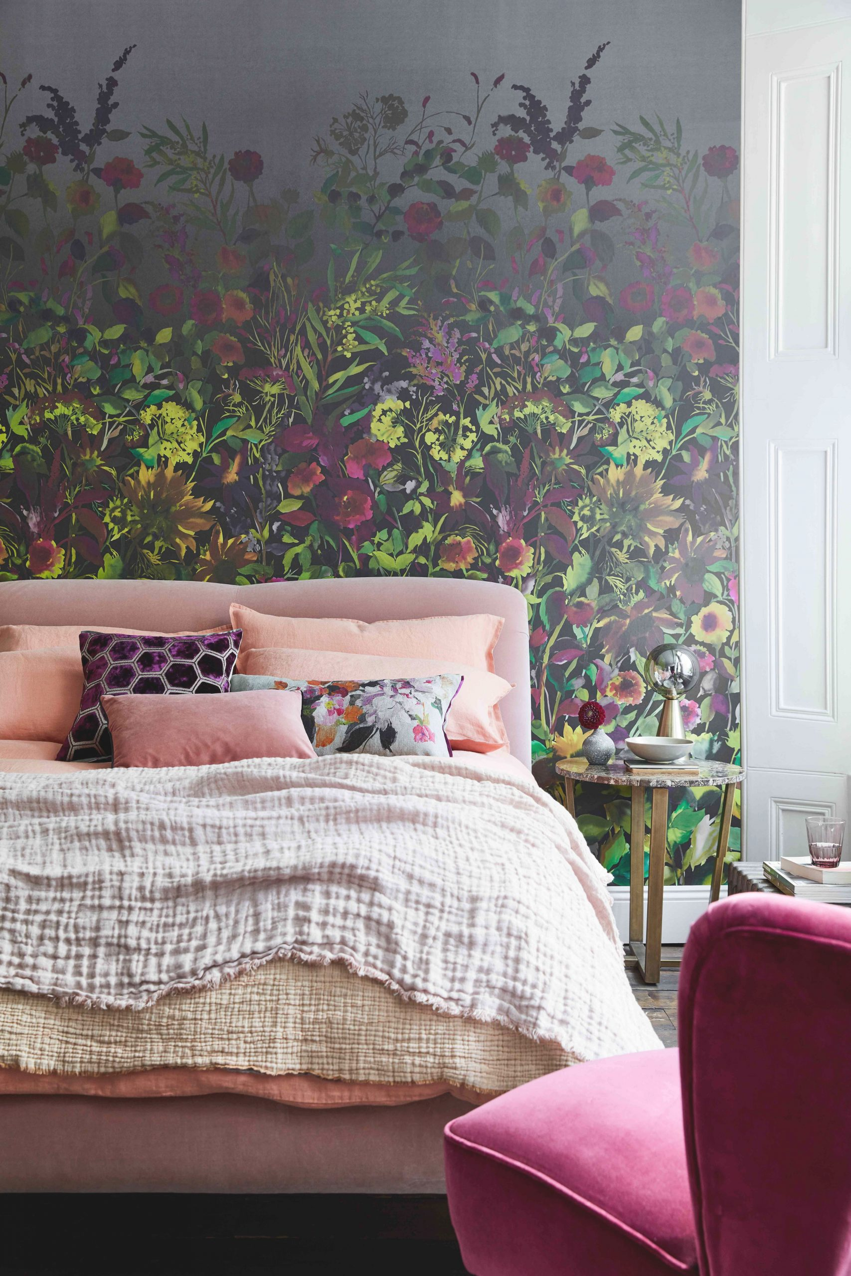 Flowers pertaining to Decorative Ideas For Bedroom