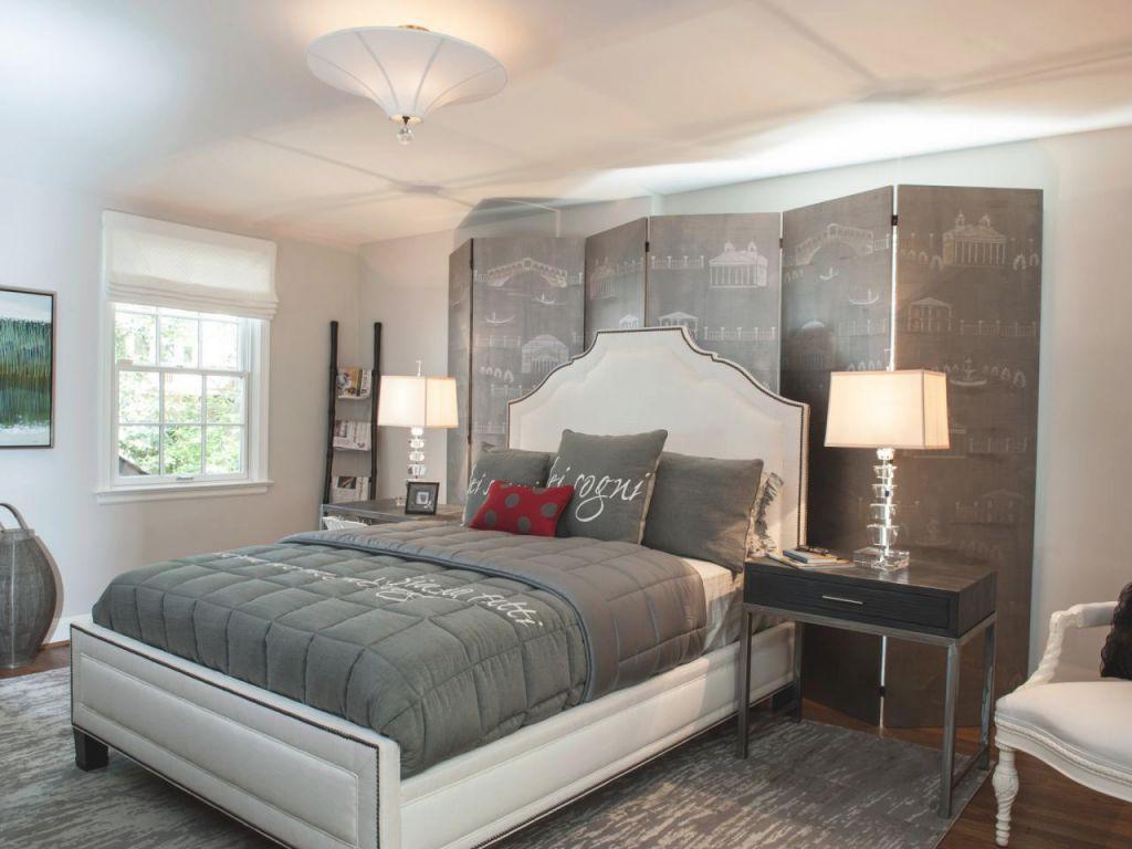 Gray Master Bedrooms Ideas | Hgtv in Relaxing Master Bedroom Decorating Ideas