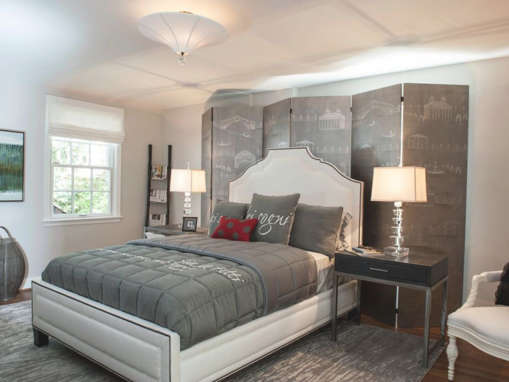 Gray Master Bedrooms Ideas   Hgtv with Unique Home Decor Ideas For Master Bedroom