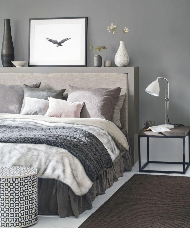 Grey Bedroom Ideas – Grey Bedroom Decorating – Grey Colour regarding Black And Grey Bedroom Decorating Ideas