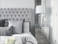 Grey Bedroom Inspo. Grey Interior Bedroom. Silver Mirror inside Black And Grey Bedroom Decorating Ideas