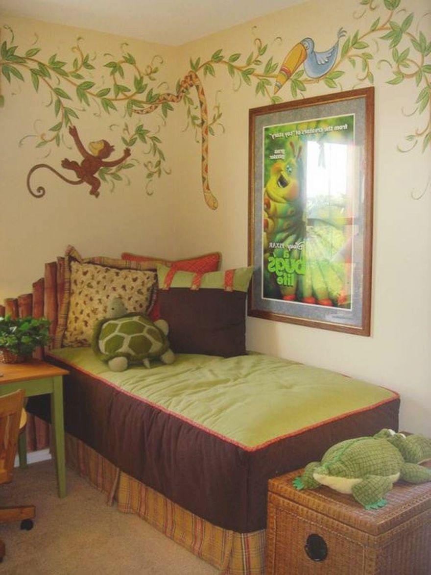 Jungle Little Boy Bedroom Ideas : Awesome Little Boys throughout Awesome Little Boy Bedroom Decorating Ideas