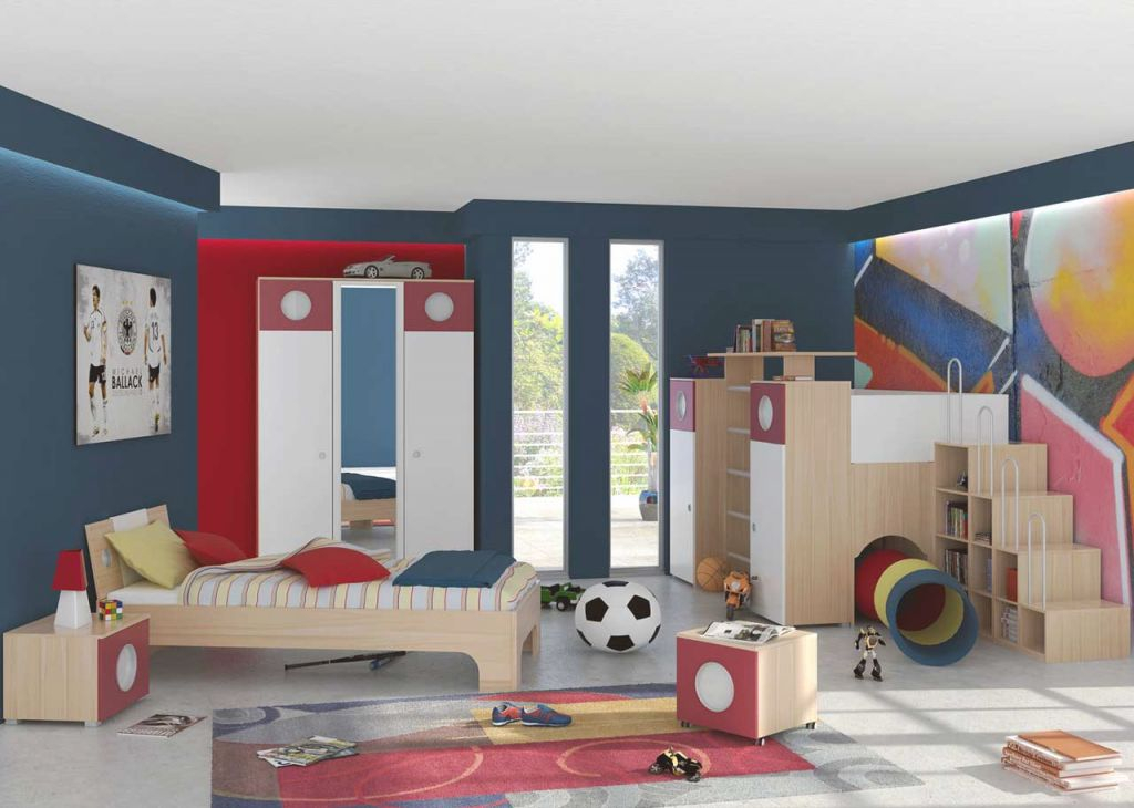 Kids Desire And Kids Room Decor - Amaza Design throughout Football Bedroom Decorating Ideas