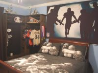 Kids Football Room Decor Home Safe – Conquistarunamujer in Football Bedroom Decorating Ideas