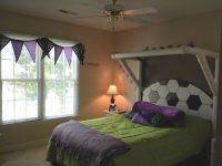 Kid's Soccer Bedroom, Love This For Camden. | Soccer Bedroom inside Football Bedroom Decorating Ideas
